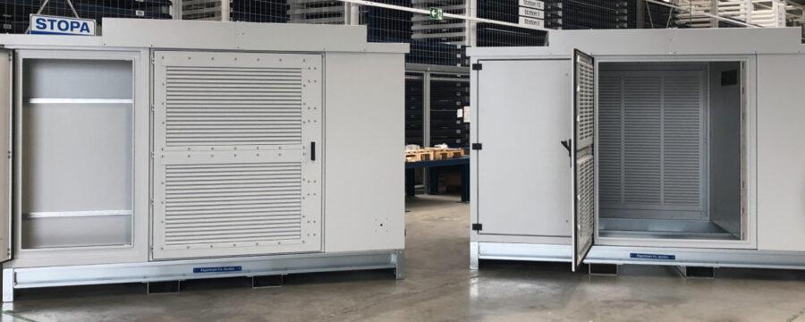 Container zur Baugruppen-Montage